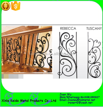 Rebecca Iron Panels For Stair Railing