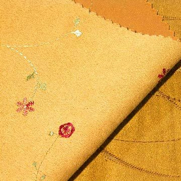 MF Weft_Suede emboidery