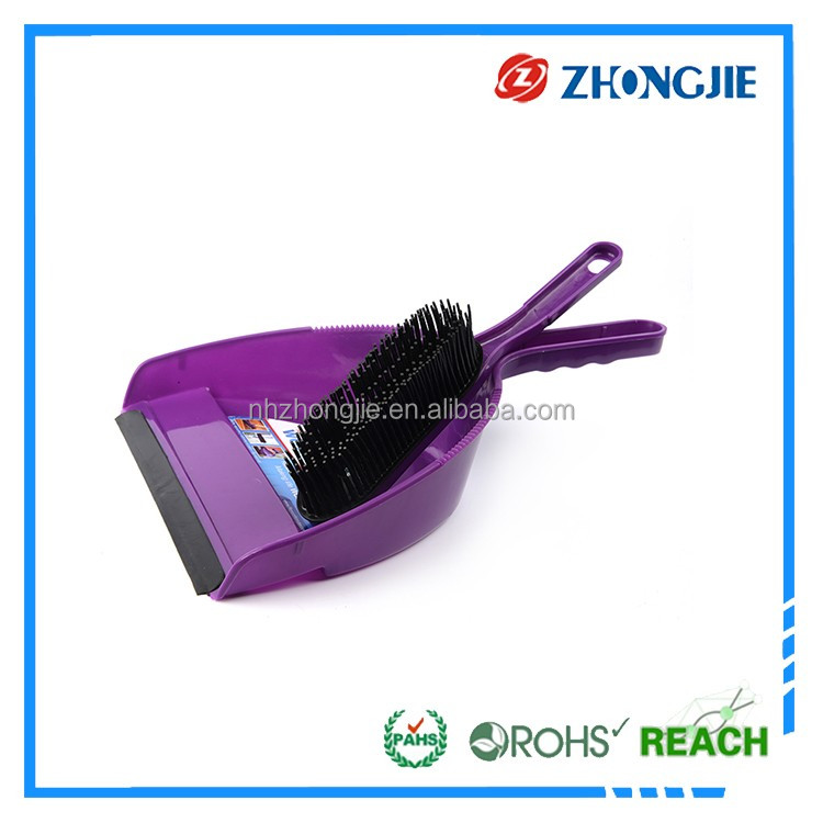 Directly Supply Durable Soft Plastic Home Use Dustpan Brush