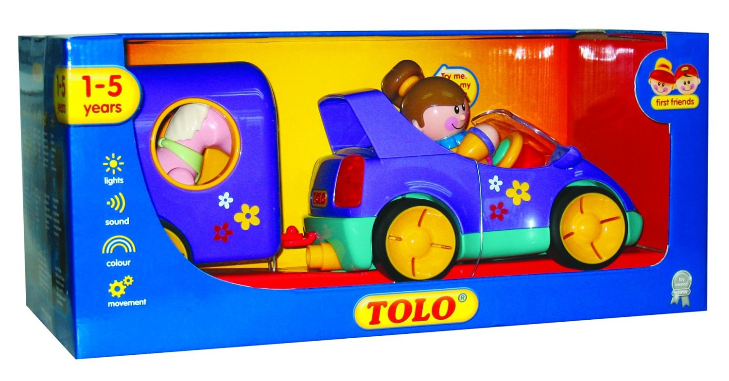 Primary Colors Sonstige Tolo Toys First Friends Car