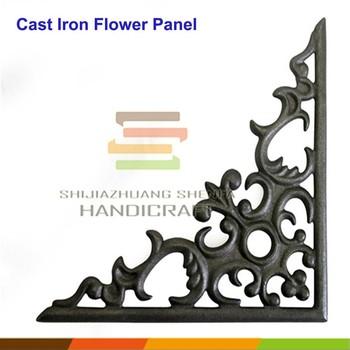 Decorative Cast Iron Wrought Furniture Corner Bracket