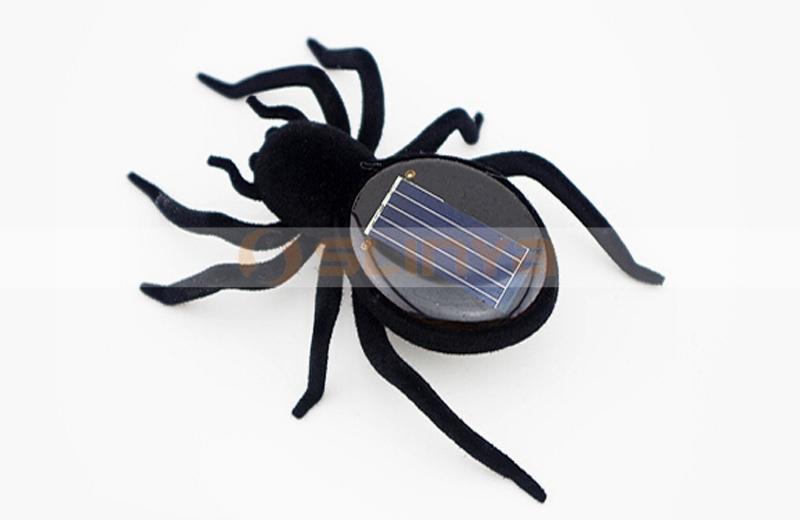 Robots éducatifs Dispositifs mobiles solaires Spider Nouveauté jouets pour enfants
