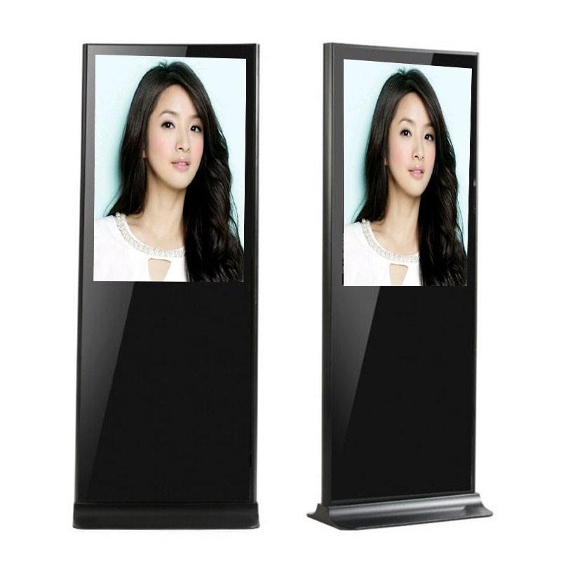 "42"" Floor Standing Wifi LCD Advertising Touchscreen Kiosk"