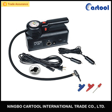 220V 110V/ DC 12V Portable Air Compressor Tire Inflator