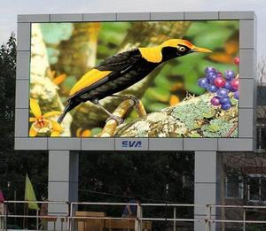 China videos outdoor p10 led sign electronic