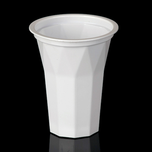 High Quality 200ml Disposable PP Plastic Ice Cream Cone Drinking Cup