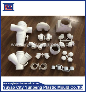 Plastic Coupling/Elbow/Cross/Tee PPR Pipe Fitting mold (with video)