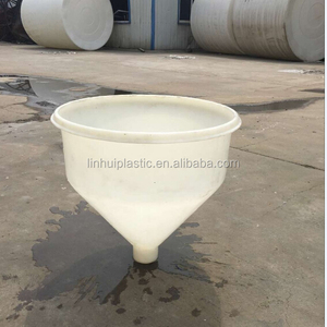 Plastic Hopper and PE food grade large plastic funnel D450*D80*H450 mm