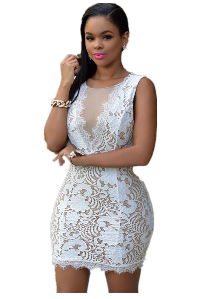 Buy 2015 HOT SELLING Vestidos Fiesta Sexys Verano White Backless ...