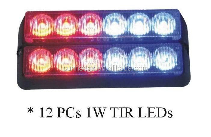 ECE MARK R65 Super Bright LED Strobe Lightheads/LED Security Emergency Flash Strobe light/Dash light (SR-LS-LD-6D), 1W LED