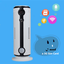 2017 720P Indoor Mini Network Smart Wifi 3g IP camera