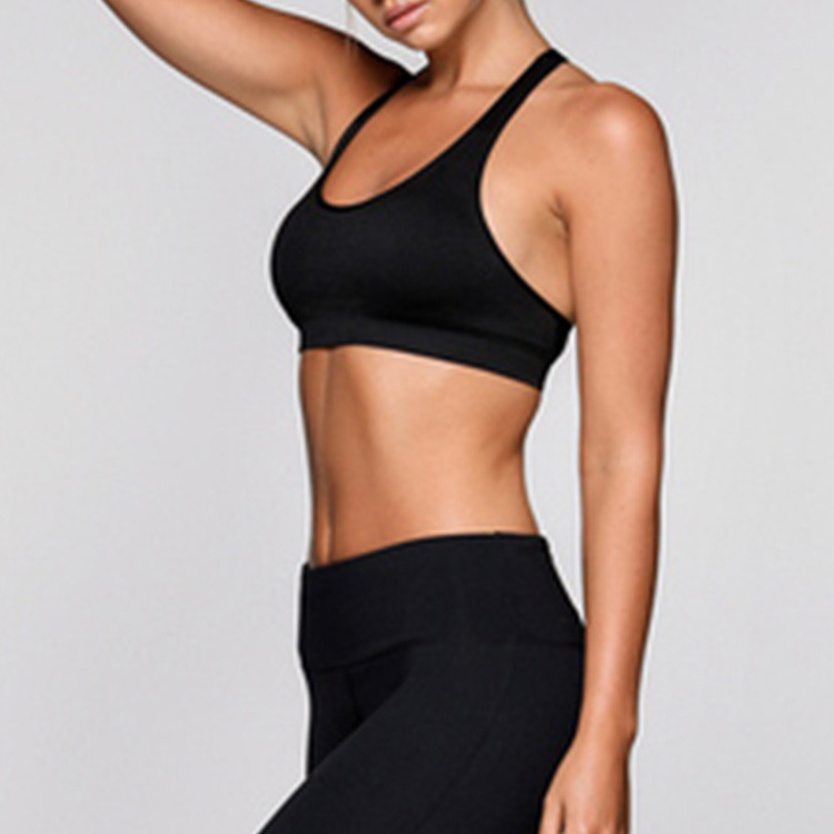 high quality  Sexy bra open back sport bra top fitness yoga  for women