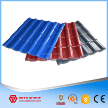 Synthetic fiberglass spanish roof tiles with kerala style
