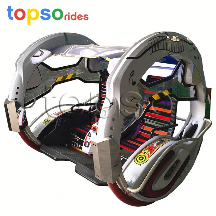 Amusement Places Popular 360 Wheel Rotating Happy Le Bar Car With Low Price