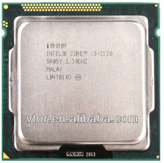 2014 Hot Parts Intel Core i3-2120 SR05Y Socket 1155 3.30GHz Used Cheap Intel Cpu Computer Processor