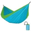 1pc New Arrival Top Quality Protable Parachute Cloth Outdoor Camping Double Person Hammock Hanging Bed Travel