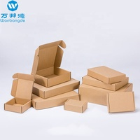 Custom Logo Corrugated Kraft Paper Mailer Box For Shipping Supplies Game Toys