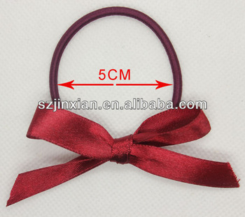 Ribbon Bow With Elastic Loop 3d1195666ef