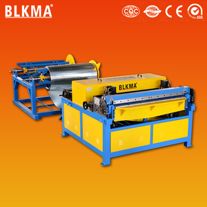 hot-sale aluminum tube duct production line / duct manufacturing machines