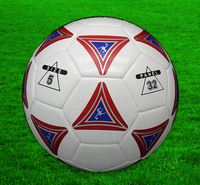 custom logo print all size 5 4 3 2 1 pu hand-stiched futsal soccer ball