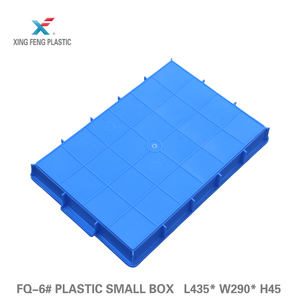 Virgin HDPE PP material promotional competitive price small plastic square tray for farming, industry, catering