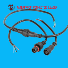 Long history manufacture and supplier ip68 waterproof outdoor wire 4 pin connectors