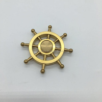 Ultra Durable Bearing Spins Precision Metal Hand Spinner Alloy gold Pirate Anchor Helm hand Fidget Spinner Finger Spinner