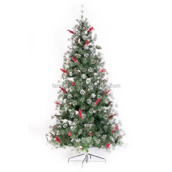 most popular 8 ft artificial christmas tree factory dongguan