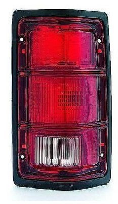 81-93 Dodge Ram Truck 1500 2500 3500 PASSENGER Taillight with black trim NEW 81-93 Dodge Ramcharger