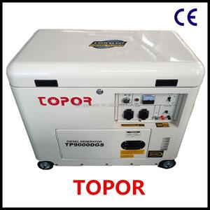 7kw alternator silent diesel generator diesel cheap price