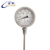 100mm Insert length thread connection industry oil tank Bimetal thermometer