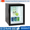 hotel minibar 40l glass front door mini refrigerator display mini fridge