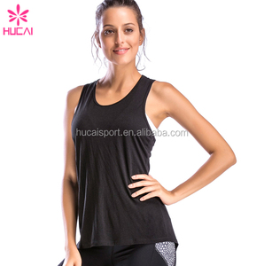 Wholesale Soft Women Fitness Sleeveless Clothes Bamboo Fiber Gym Workout Vest Custom Tank Top