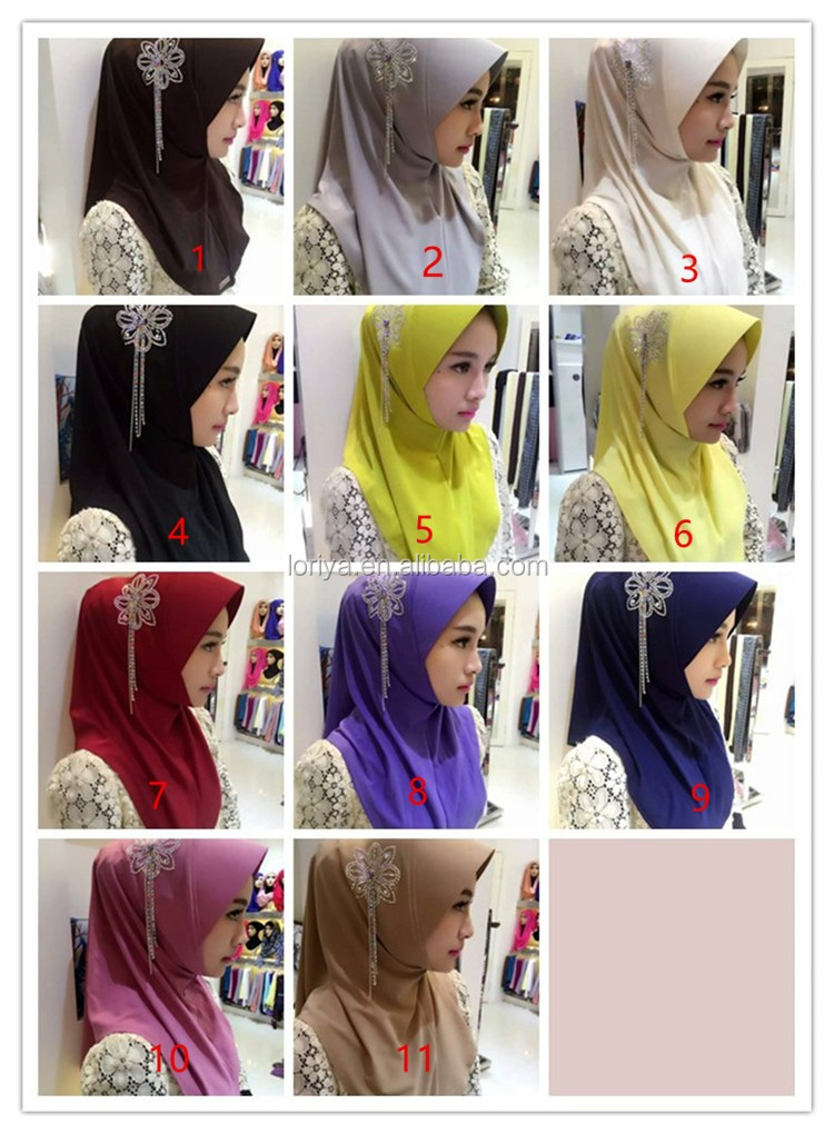 Professional Manufactacturer Wholesale Scarf Hijab For Lady