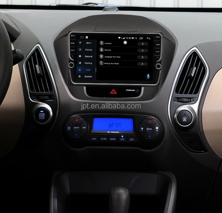 "Unique Design  9"" 4G+64G 8 core android 8.1 car radio multimedia stereo For Hyundai IX35  gps navigation  DSP Video"