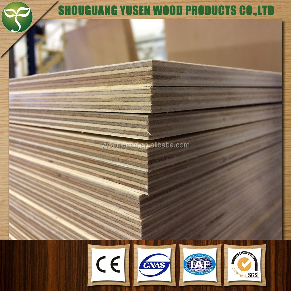 Thin thickness plywood e0 3mm birch plywood buy 2 for Plywood sheathing thickness