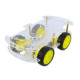 School Project Educational Robotics Engineering 4WD DIY Smart Robot Electric Car Chassis Kit