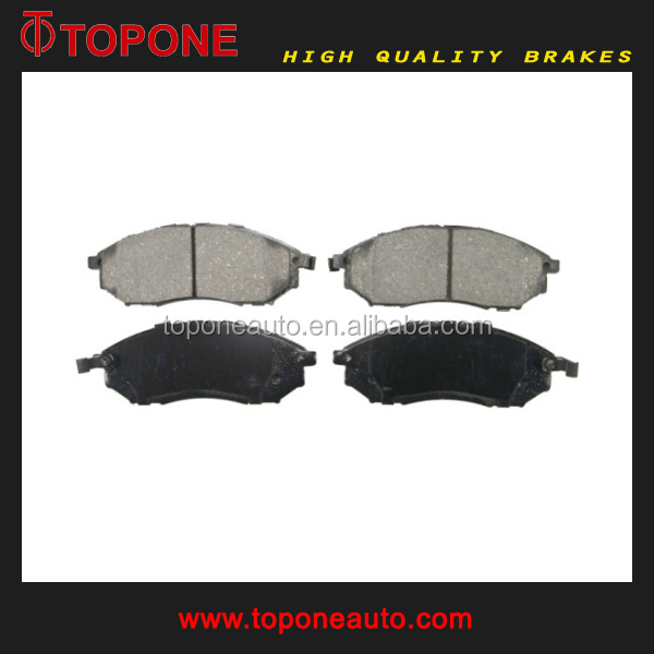 factory price auto spare parts brake pad for INFINITI for NISSAN d888 41060ar090 gdb3392 23698