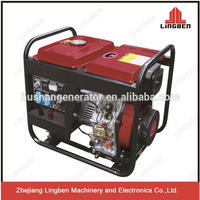 LingBen Machinery Open Type Electric Start Power Portable Used Diesel Generator Set For Sale Cheap Price 2kw 3kw 5kw