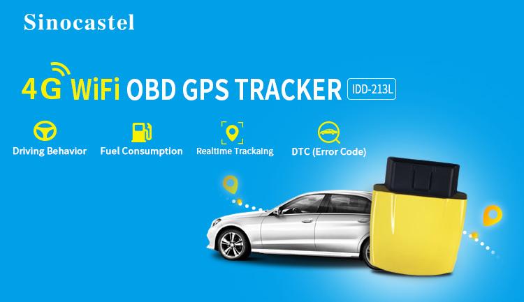 Gran oferta obdii 4g hotspot obd2 scanner 4g en tiempo real mini gps tracker de la flota