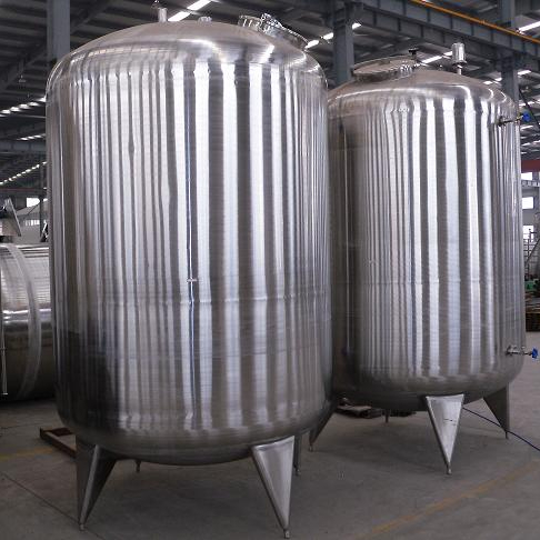 2T STAINLESS STEEL STORAGE <strong>WATER</strong> <strong>TANK</strong>
