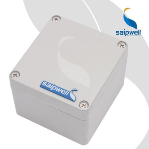 Saipwell SP-AG-FA18 80*76*57mm Aluminum IP66 Waterproof Outdoor Project Box Die Cast Aluminum Enclosure