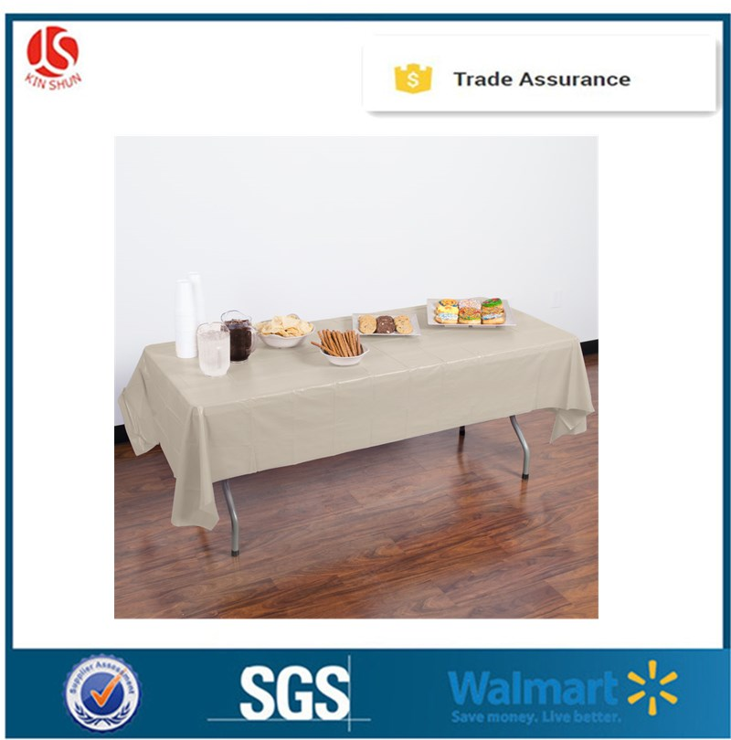 Everyday one time products wholesale printed plastic materials table cloth/table cover