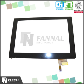I2c Interface 5 Touch Points Ft5406 Ic Capacitive Touch Screen 10''  Digitizer - Buy 10'' Digitizer,Screen 10'' Digitizer,Touch Screen 10''  Digitizer