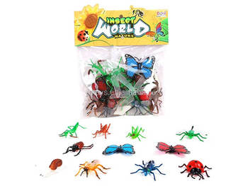 Kids Animal Toy Hexapod Set Playing Insect Toy 20 In 1 Plastic Insect Toys  - Buy Insect Toys,Plastic Small Insects Toys,Flying Insect Toy Product on