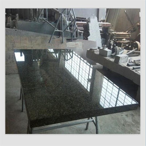 Table top bench top granite Verde Ubatuba tile