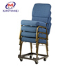 Religion theater furniture soft in padded seating, interlocking stackable church chair