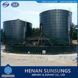 china biogas digester, anaerobic digester, food waste biogas digester