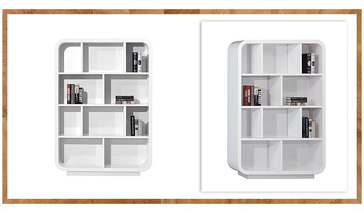 China high end tall modern bulk filing cabinets wood bookcase