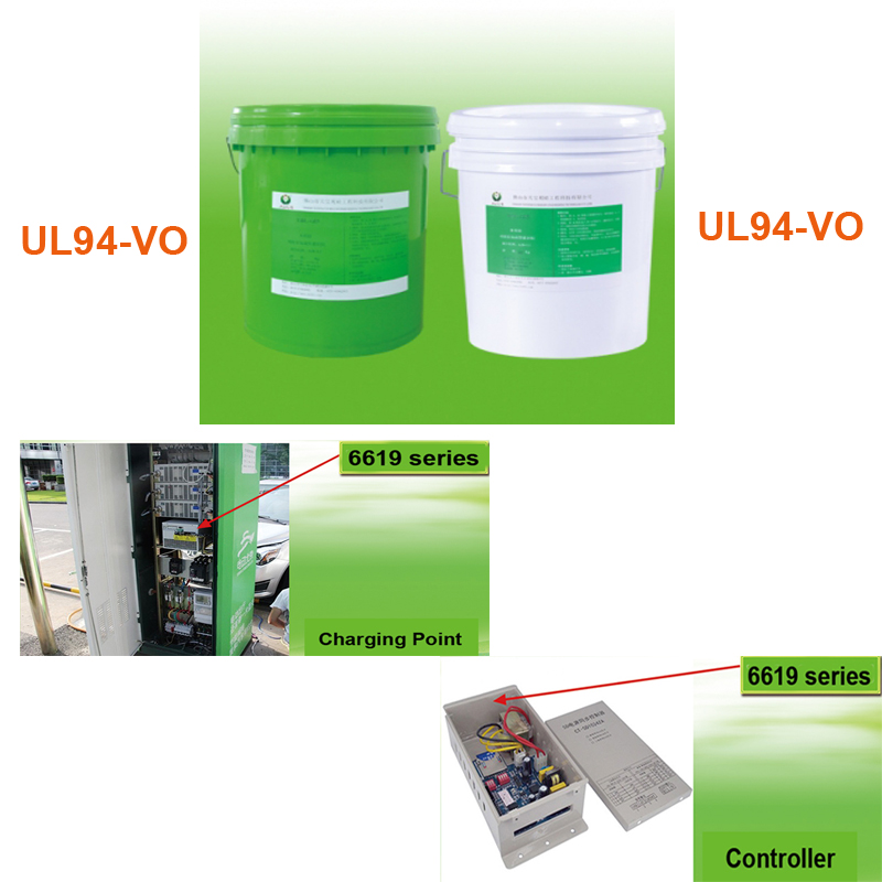 Electric RTV Liquid Silicone Potting Silicon Addhesive